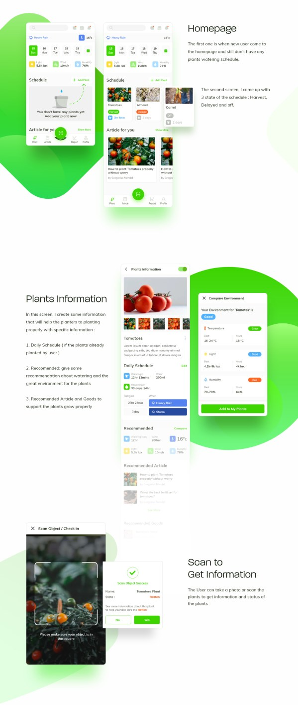Waplant Mobile Apps Free UI kit 02
