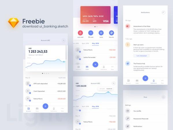 Banking Free UI Kit 02