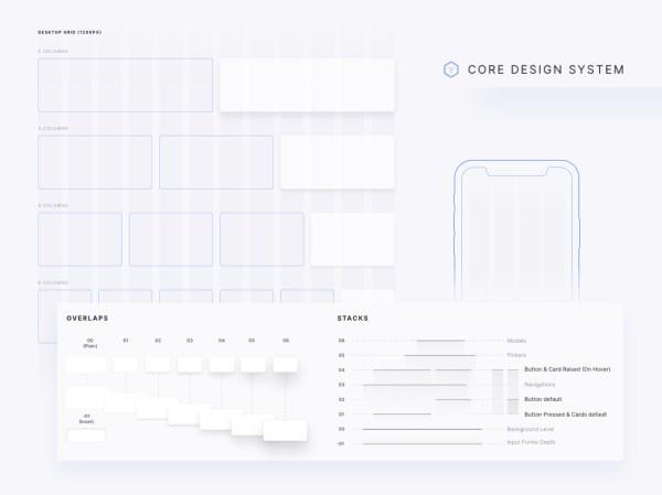 Core Design System - Free Sketch File 03
