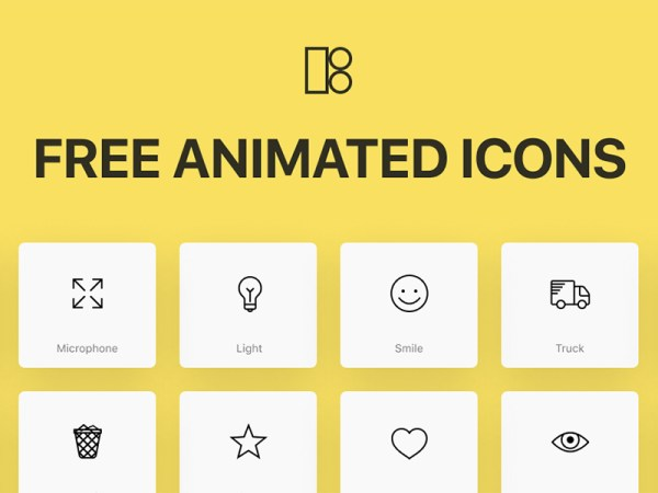Animated Icons - 200 Free Icons