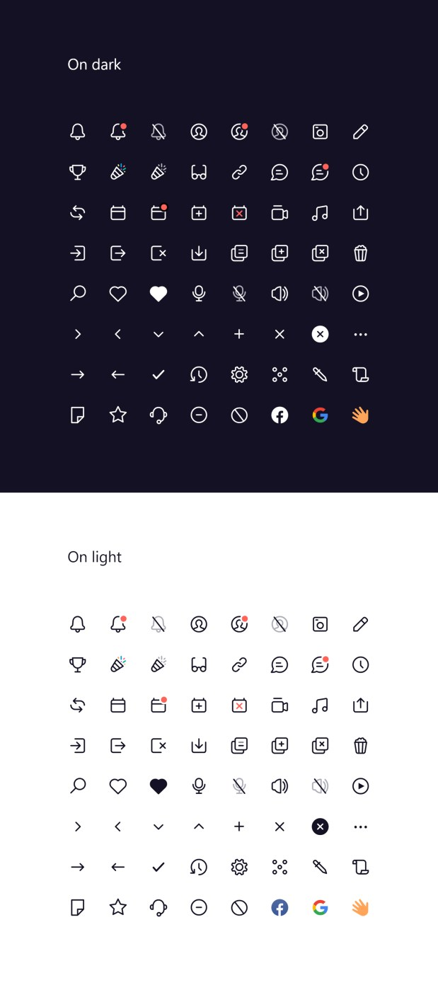 126, 24x24 Free Vector Icons Set