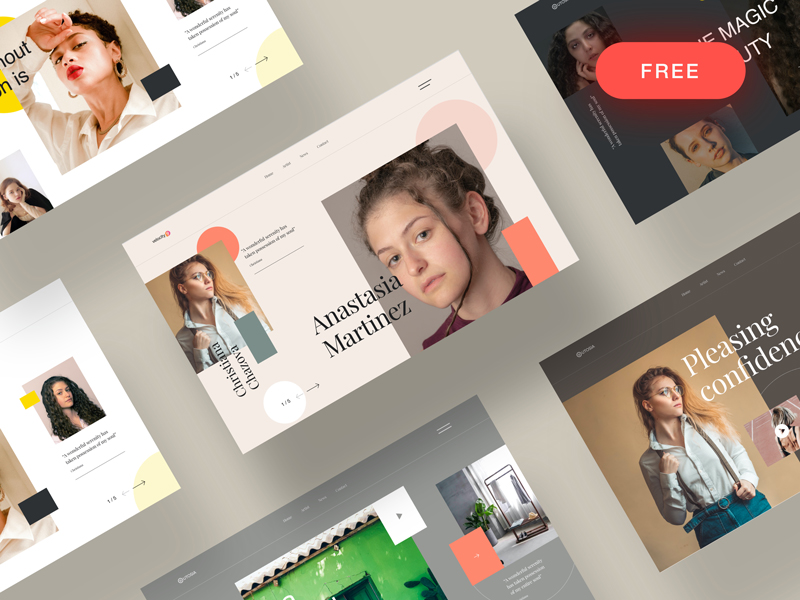 Free Website Header Designs for Sketch