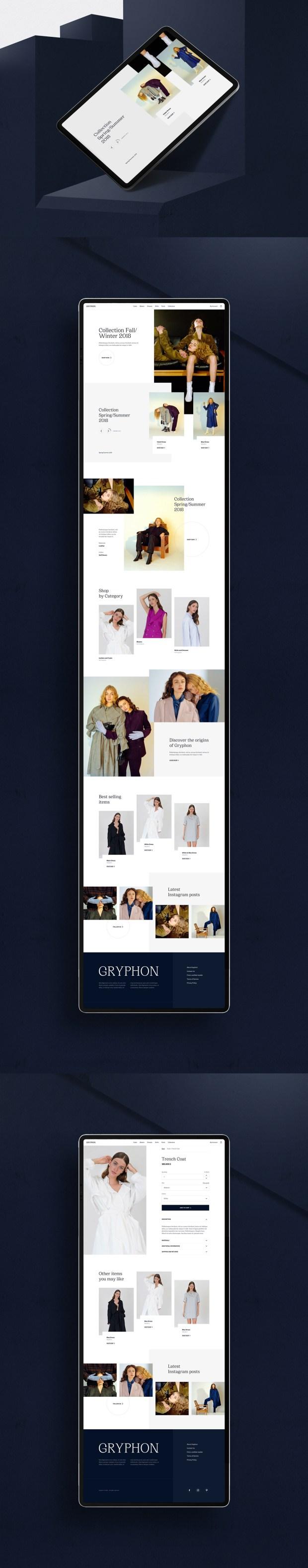 Gryphon Fashion E-commerce Template