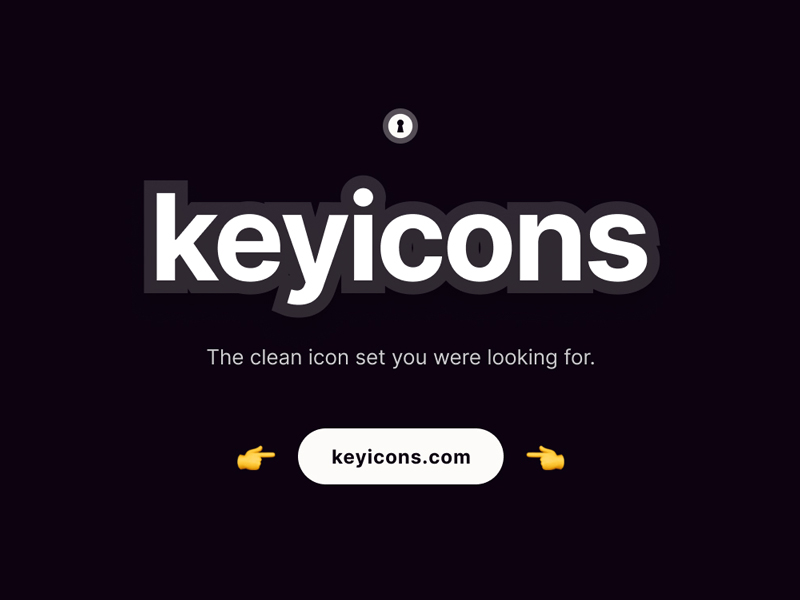 Keyicons - Free Icon Set