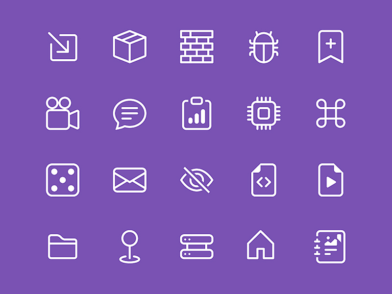 Bootstrap Icon Library