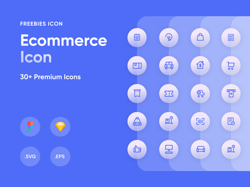 Comercily - eCommerce Free Icon Set