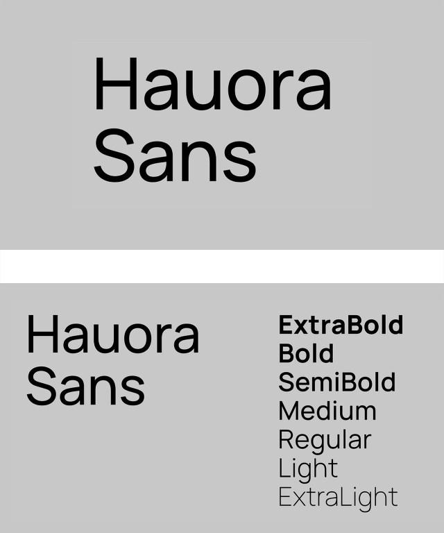 Hauora Sans Free Font