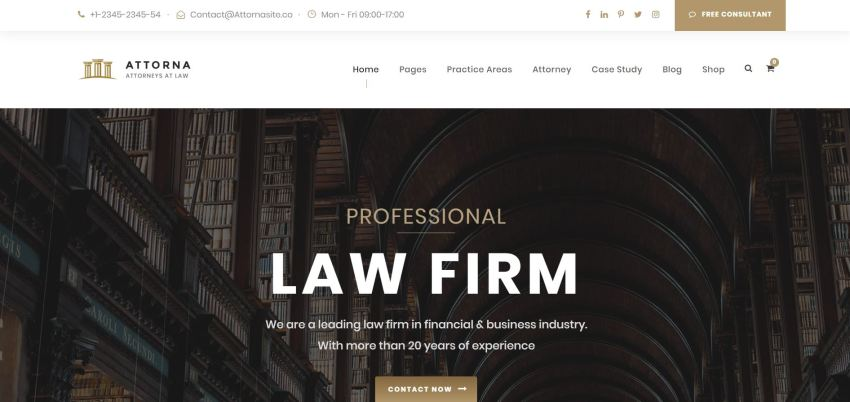 10+ Best Lawyer WordPress Themes