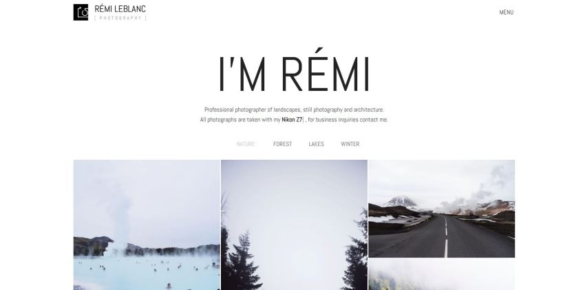 10+ Best Photography WordPress Themes in 2019