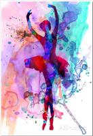 Ballerina Watercolor - Beautifu Centerpiece