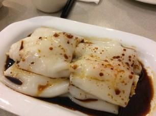 """Shrimp"" rice roll"