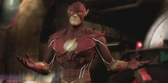 The Flash in Injustice: Gods Among Us