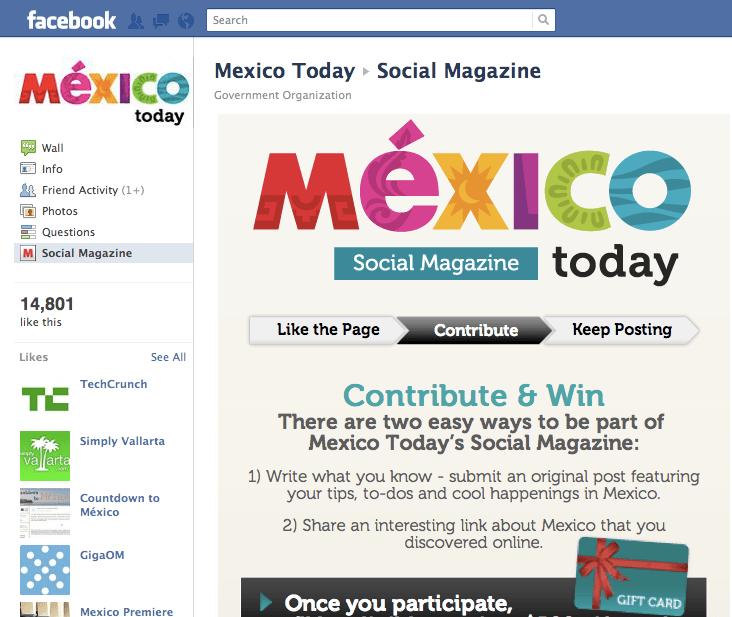 Mexico Today Social Magazine on Facebook