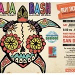 Baja Bash 2012, Artwork created by Lore Dach