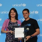 "Javier ""Chicharito"" Hernandez Unicef Ambassador to Mexico"
