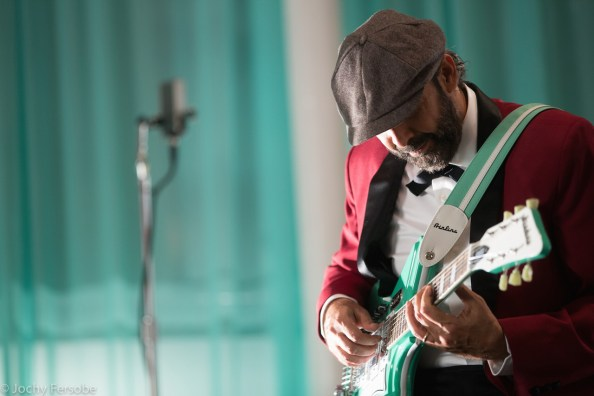 Juan Luis Guerra (photo by Jochy Fersobe used with permission by Maestro Cares Foundation)