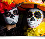 Dia de los Muertos 2016 at Sandos Caracol Eco Resort (via TheMexicoReport.com)