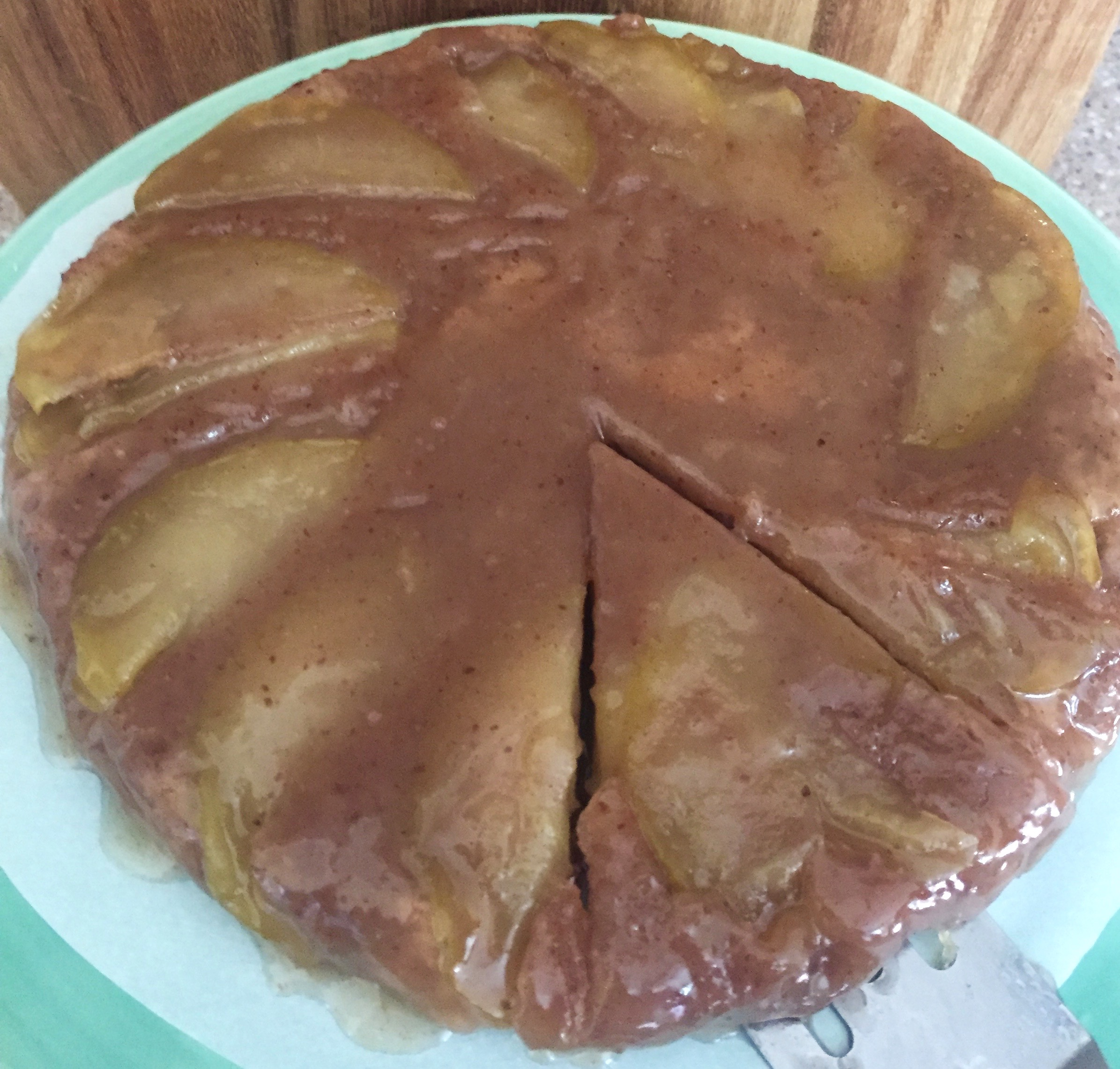 Lightened Up Caramel Apple Cake V Gf The Mexitalian