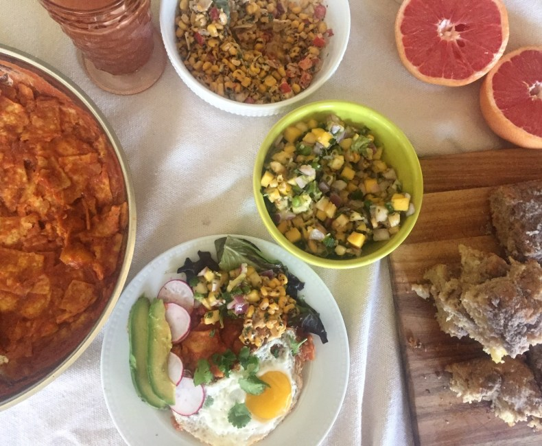 Full cinco de mayo brunch spread