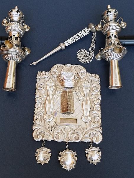Second Czech Torah Scroll Ornaments