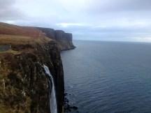 Kilt Rock on Isle of Skye
