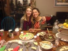 Baking with sisters!