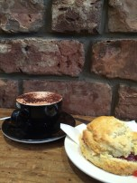 We love coffee. and hot chocolate. and scones.