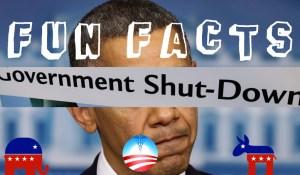 FUN FACTS: Government Shutdown