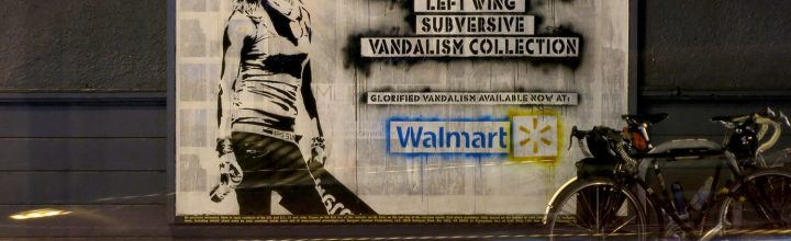 Walmart sells fake Eddie Colla prints by Banksy?