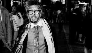 The man with the cam in Japan, street photographer De'Andre Scott