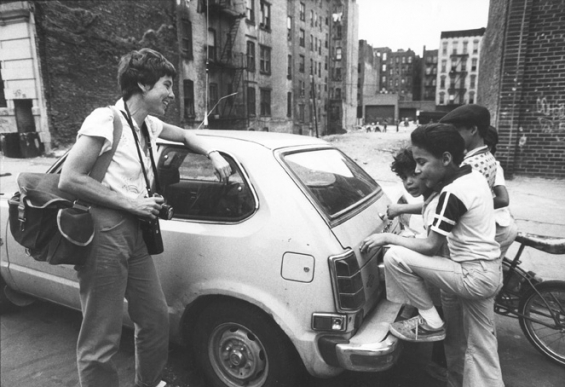 Martha Cooper 1980 New York City via Fotografie.nl