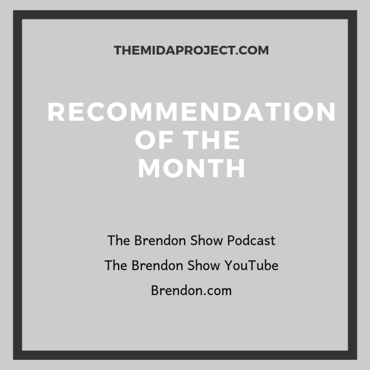 Recommendation of the Month - Brendon-2