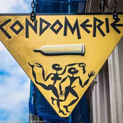 Visiting Condomerie, Amsterdam