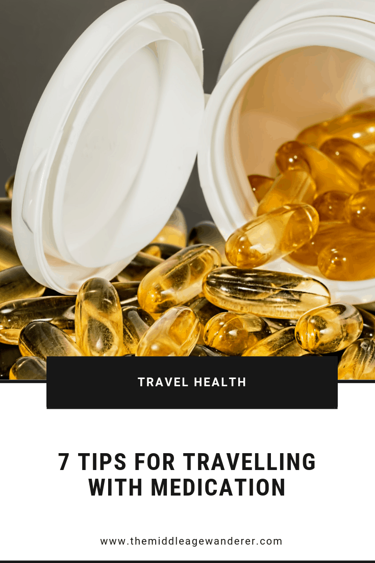 7 Tips for Travelling with Medication  If you are planning a trip overseas and you take medication, you have some pre-planning to do. Here are 7 basic guidelines to help when planning your trip.  #travel #medication