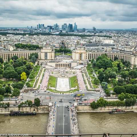 Paris from the Eiffel Tower – A Photo Gallery