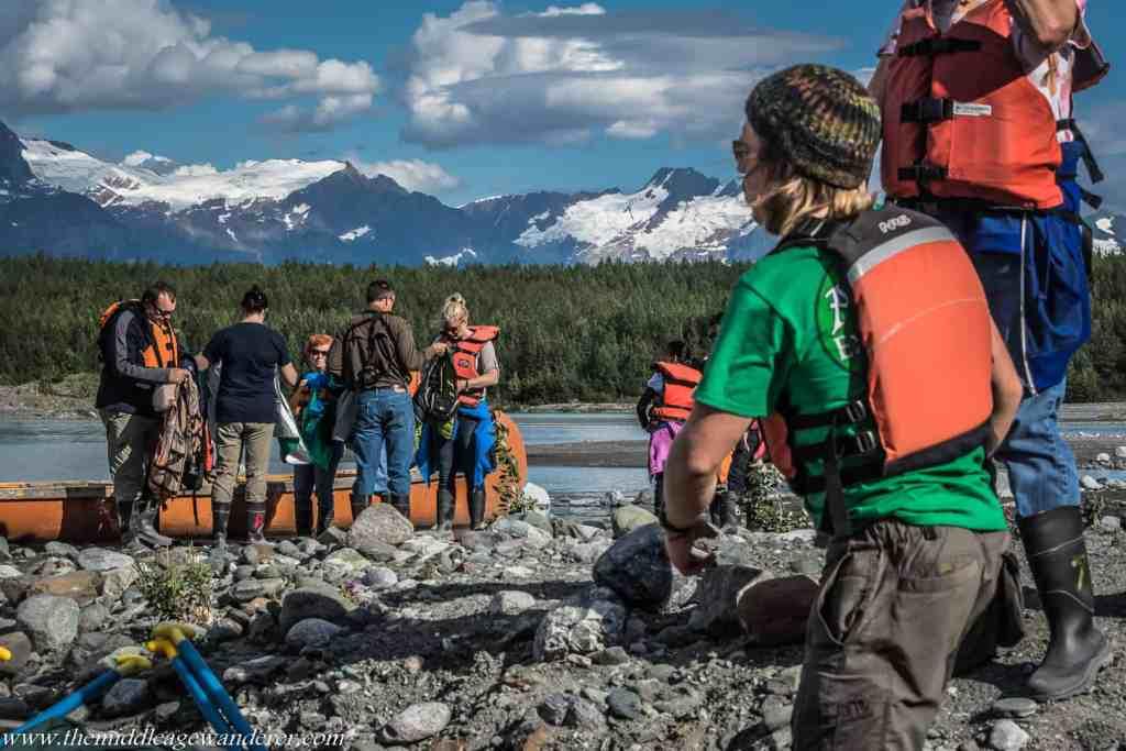 Trip to Davidson Glacier, Alaska