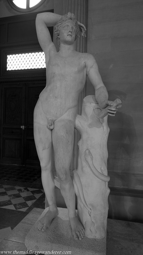 Male Statues - The Louvre