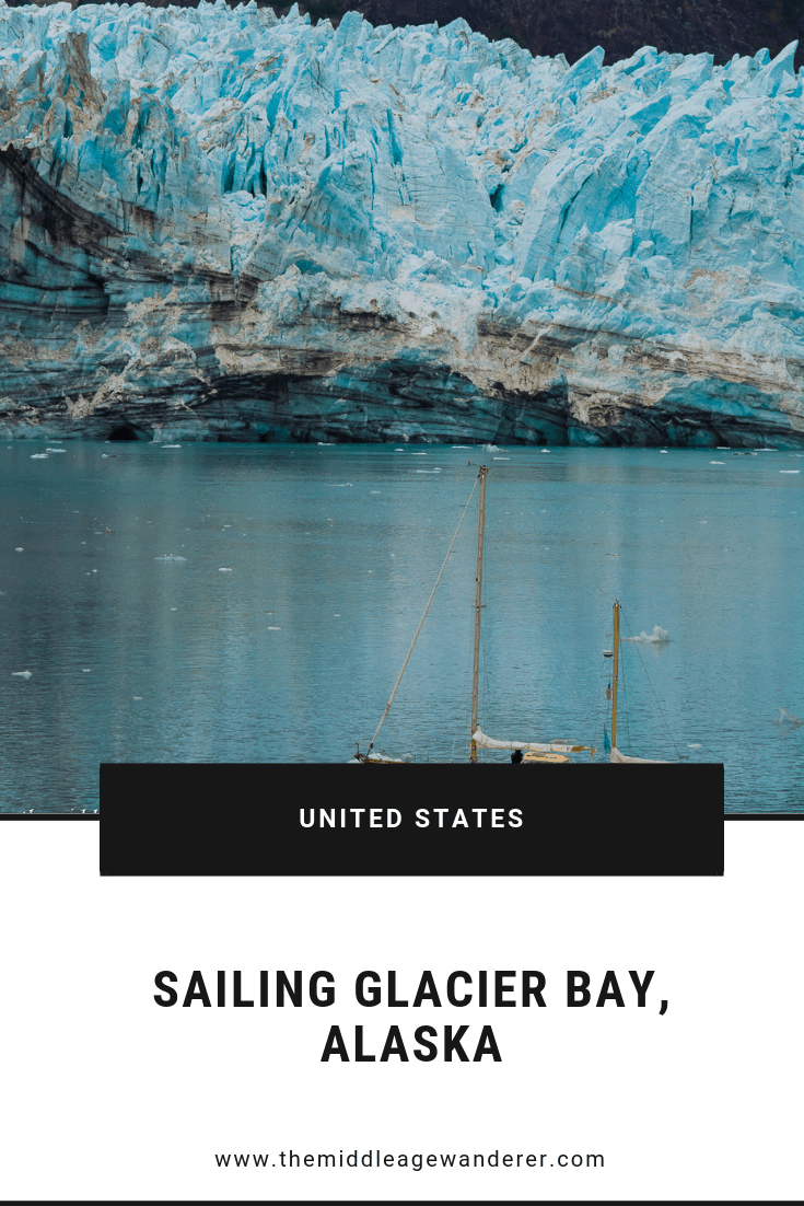 Sailing Glacier Bay, Alaska  Glacier Bay is a must for anyone's bucket list. It is truly stunning. The inside passage cruises usually spend a day sailing around the bay.  #travel #Alaska #GlacierBay #UnitedStates