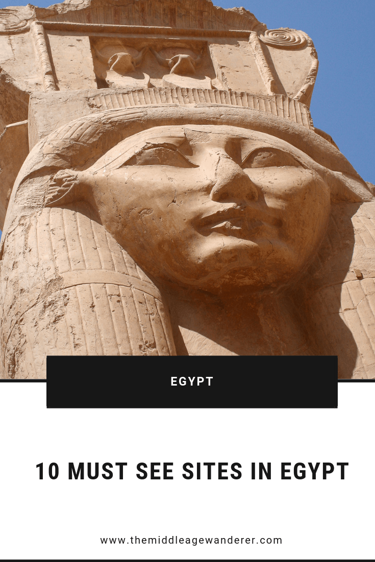 10 Must See Sites in Egypt