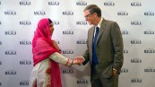 Bill Gates with Malala