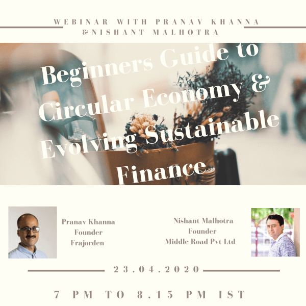 Sustainable Finance Webinar
