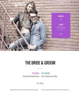 Wedding Page