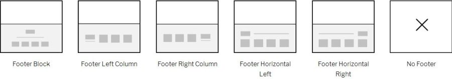 footer layouts image