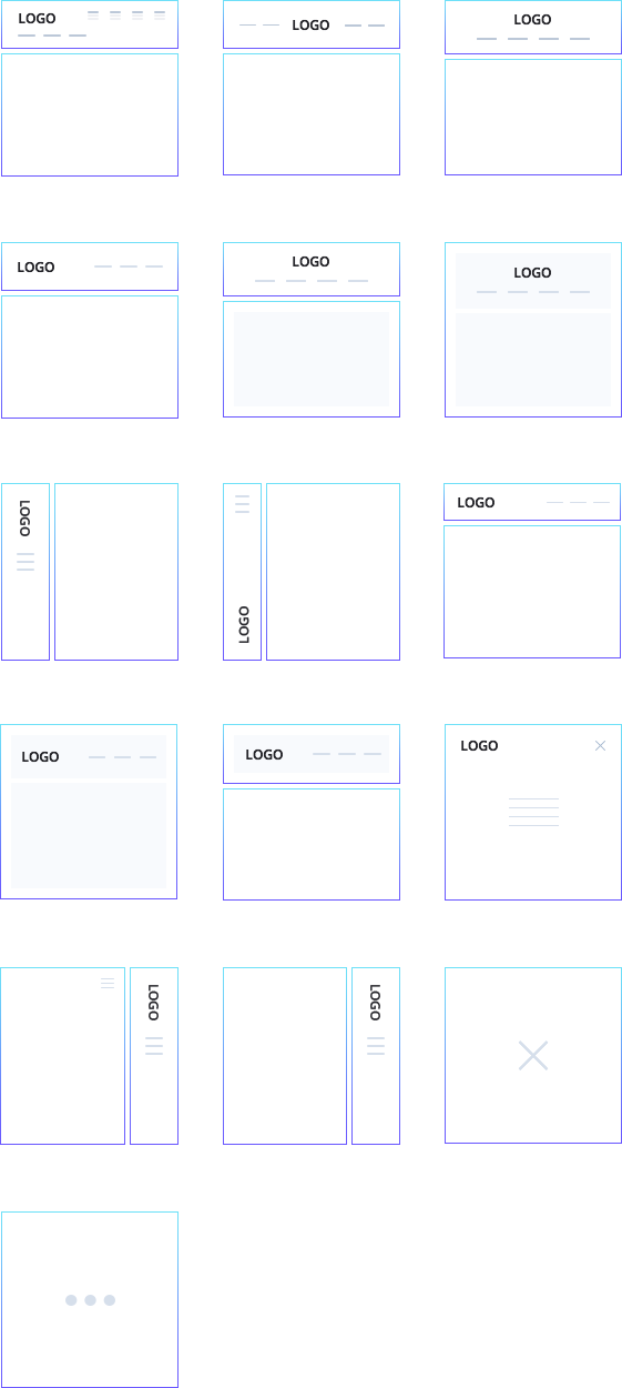 header-layouts