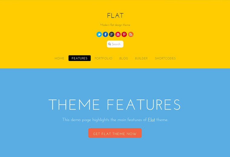 Flat - Themify
