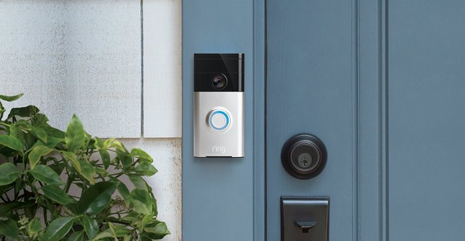 The Ring smart doorbell lets you see who's at the door via your smart phone, even if you're sick in bed due to a chronic illness.