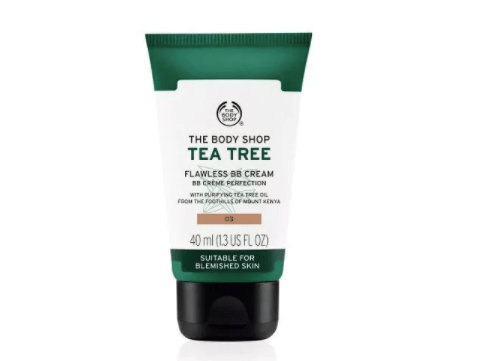 body shop tea tree bb cream