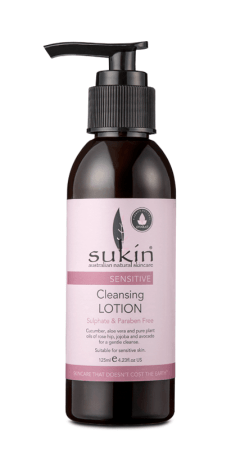 sukin cleansing lotion