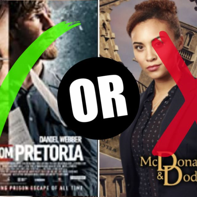 The Mighty Dragon reviews McDonald & Dodds and Escape from Pretoria with AV Turner.