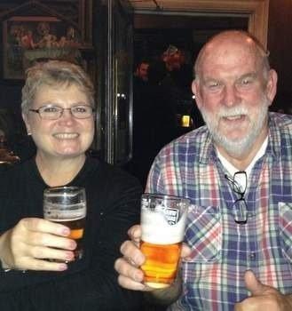 Manon McDonald and husband Johan McDonald